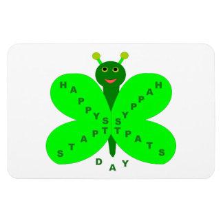 Saint patricks dayの蝶磁石 マグネット
