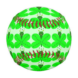 Saint patricks dayの蝶野球 野球ボール