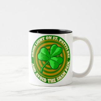 Saint patricks day ツートーンマグカップ
