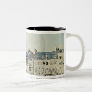 Sainteキャサリン、Honfleur 1864年の教会 ツートーンマグカップ