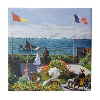 Sainte AdresseのタイルのMonetの庭 タイル