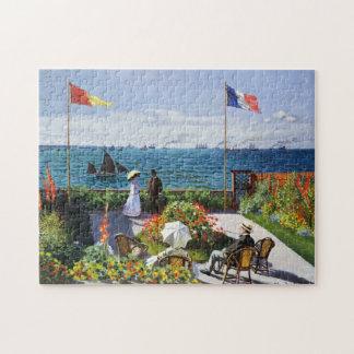 Sainte AdresseのパズルのMonetの庭 ジグソーパズル