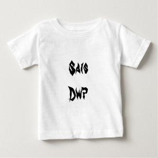 Saisのdwp、ウェールズの愚かなイギリス人 ベビーTシャツ