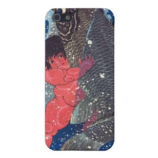 Sakata Kaidō-maruは巨大なコイと苦闘します iPhone 5 カバー