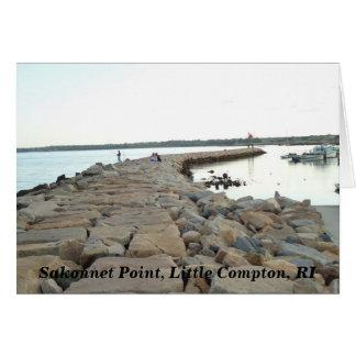 Sakonnetポイント防波堤、小さいコンプトン、RI カード