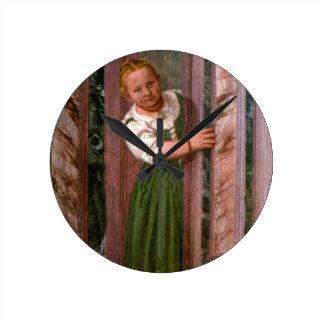 Salaからのドア、Crociera、c.156の子供 壁時計