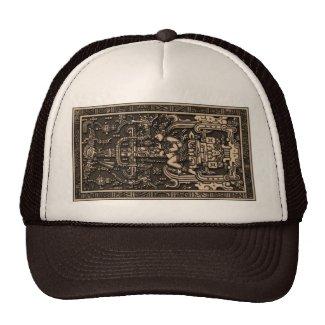 Sala Tumba de Pakal2 メッシュ帽子