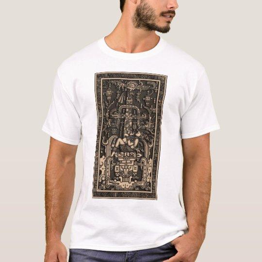 Sala Tumba de Pakal3 Tシャツ