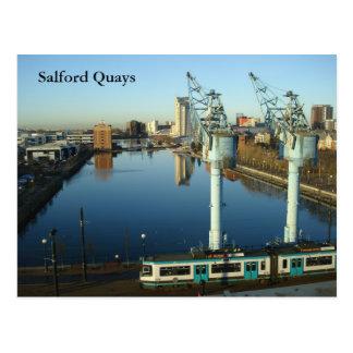 Salfordの波止場 ポストカード