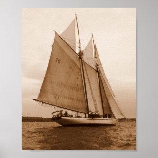 Salishの海の7つの帆 ポスター