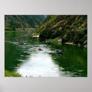 Salmon川の休息 ポスター