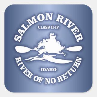 Salmon川(カヤック) スクエアシール