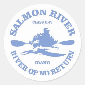 Salmon川(カヤック) ラウンドシール