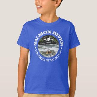 Salmon川(c) Tシャツ