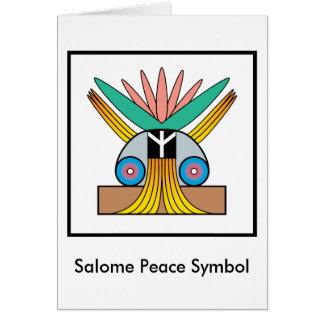 Salomeのピースマーク カード