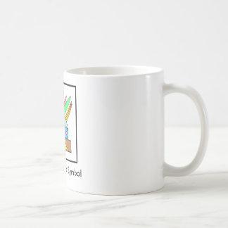 Salomeのピースマーク コーヒーマグカップ