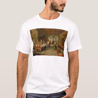Salome聖ヨハネの頭部を示します Tシャツ