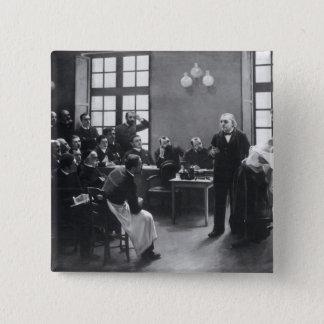 Salpetriereの博士とのCharcotレッスン 5.1cm 正方形バッジ