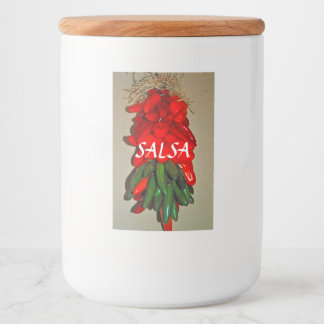 Salsa Food Container Label フードラベル