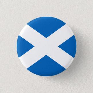 Saltireスコットランドの旗Pinのバッジ 3.2cm 丸型バッジ
