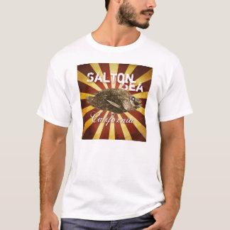 Saltonの海、カリフォルニアのスターバストの魚 Tシャツ