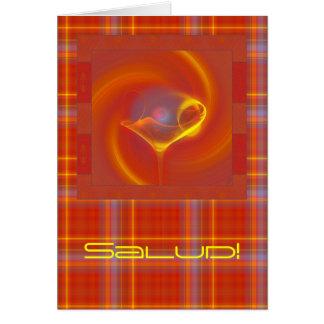 SaludのFaeryのマルティーニの太陽のな芸術 カード