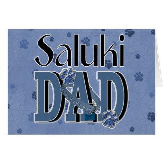 Salukiのパパ カード