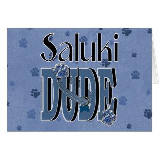 Salukiの男 カード