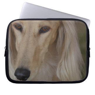 Salukiブロンドの犬 ラップトップスリーブ