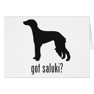 Saluki カード