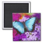 Sammamishワシントン州の熱帯蝶7 マグネット