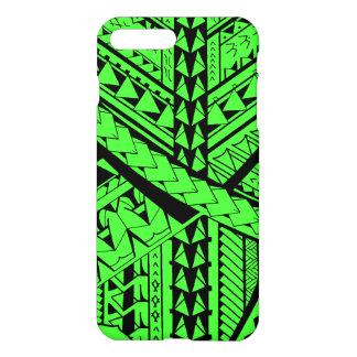 Samoanまたはポリネシアの種族の形および記号 iPhone 8 Plus/7 Plusケース