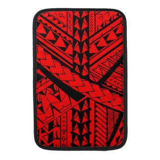Samoanまたはポリネシアの種族の形および記号 MacBook スリーブ