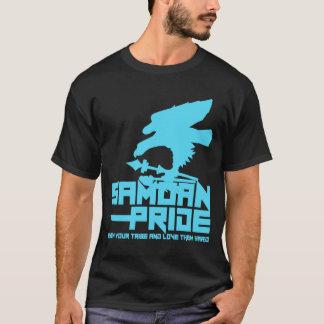 SamoanプライドBblue Tシャツ