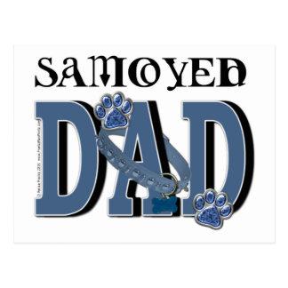 Samoyedのパパ ポストカード