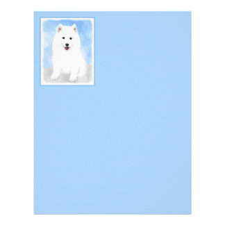 Samoyedの子犬 レターヘッド
