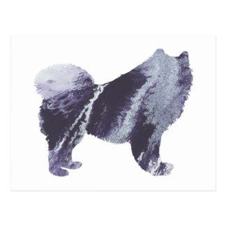 Samoyedの芸術 ポストカード