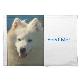 Samoyed犬のランチョンマット ランチョンマット