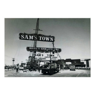 Samsの町ラスベガス1975年 ポスター