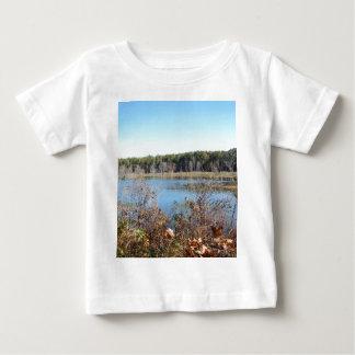Sams湖の鳥類保護区 ベビーTシャツ