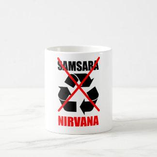 Samsaraにあなたのカルマをいいえ行きます夢のために改善しないで下さい コーヒーマグカップ