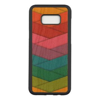 Samsungのカラフルな銀河系S8+ 細いさくらんぼ木箱 Carved Samsung Galaxy S8+ ケース