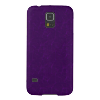 Samsungの銀河系S5のやっとそこに紫色の霞 Galaxy S5 ケース