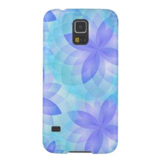 Samsungの銀河系S5の箱の抽象芸術のはすの花 Galaxy S5 ケース