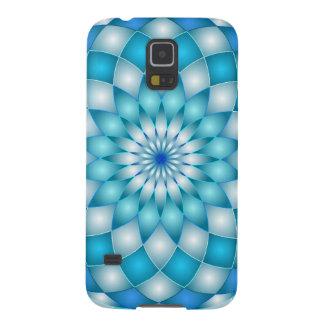 Samsungの銀河系S5の箱の曼荼羅のはすの花 Galaxy S5 ケース