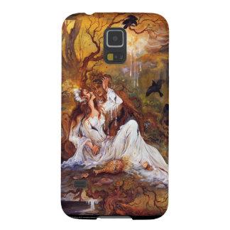 Samsungの銀河系S5 -ミニチュアペルシャの女性 Galaxy S5 ケース