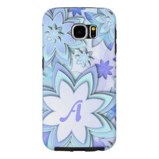 Samsungの銀河系S6の箱の抽象芸術のはすの花 Samsung Galaxy S6 ケース