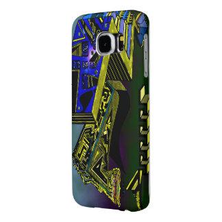 Samsungの銀河系S6 -リアニメーションの建物 Samsung Galaxy S6 ケース