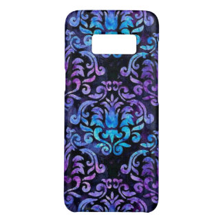 Samsungの銀河系S8の箱のティール(緑がかった色)そして紫色のダマスク織 Case-Mate Samsung Galaxy S8ケース