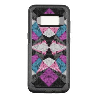Samsung G S8の例の大理石の幾何学的な背景G438